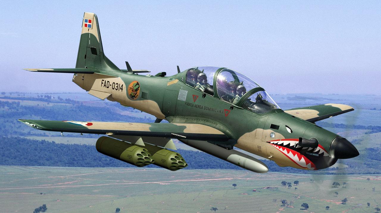 Líbano estuda a compra de aeronaves Super Tucano