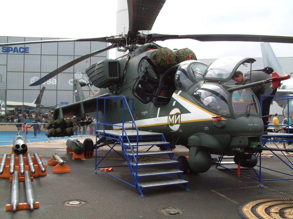 عائلة المروحية الهجومية الشهيرة Mi24 ـ Mi-35 Mi-35m