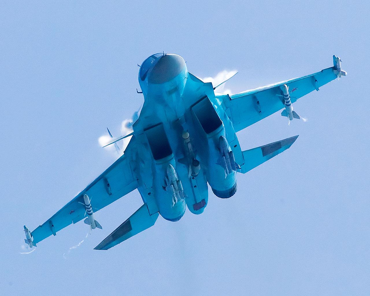 Rússia quer exportar o Sukhoi Su-34