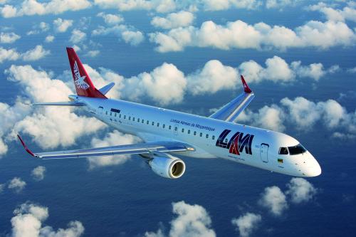 Companhia linhas aéreas de moçambique lam inicia voos para a