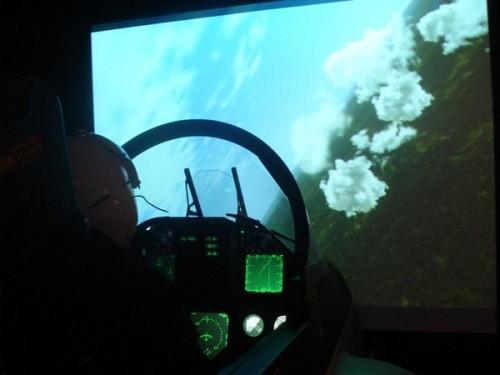 simulador FA-18 - 1