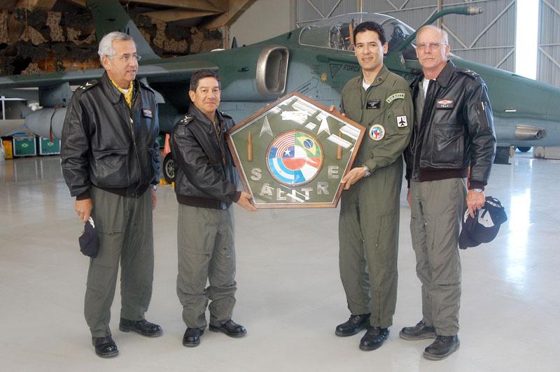 Esquadrão Centauro recebe Galardão Salitre II - foto FACH