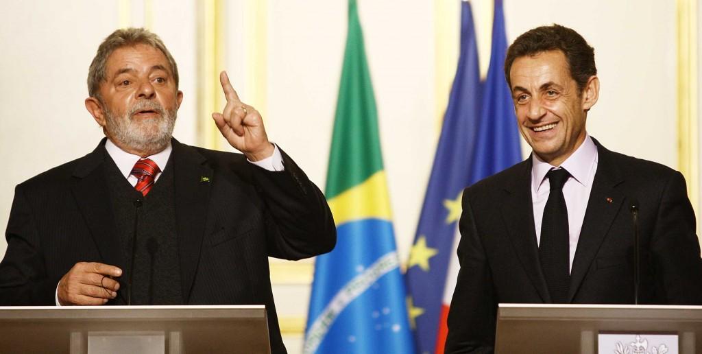 Lula e Sarkozy 14-11-09- foto Ricardo Stuckert - sec de imprensa - presidencia da república