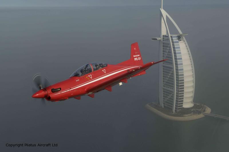 PC-21-UAE-01 - foto Pilatus aircraft