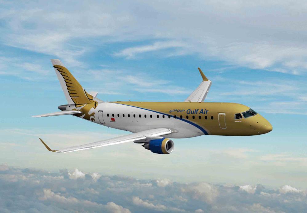 E170 Gulf Air - imagem Embraer