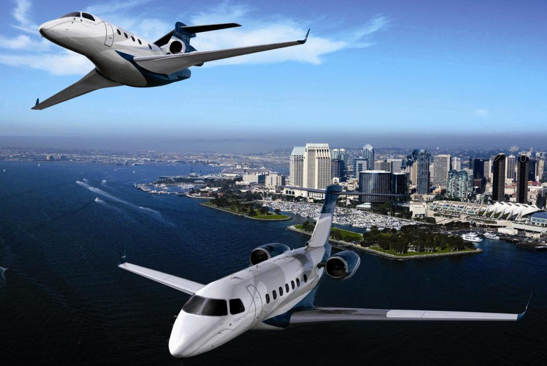 Legacy 450 e 500 - imagem Embraer