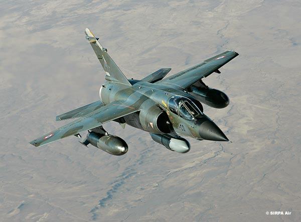 Mirage F1 - Tchad - foto armee de lair