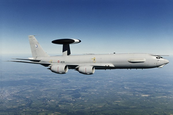 AWACS francês - foto Boeing