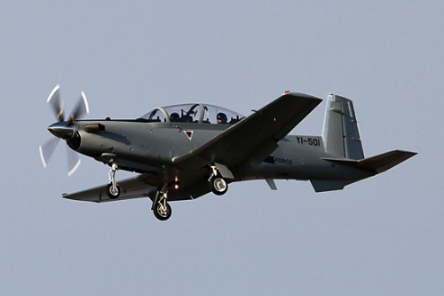 Iraq T-6A photo by Andrew. H. Cline