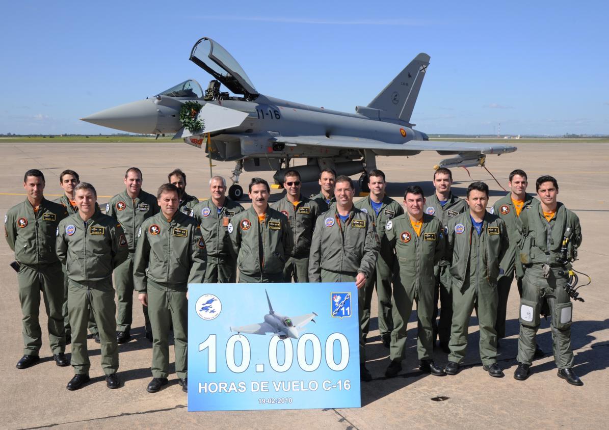 Typhoon - 10000 horas Forca Aerea Espanhola - foto 2 Ejercito del Aire
