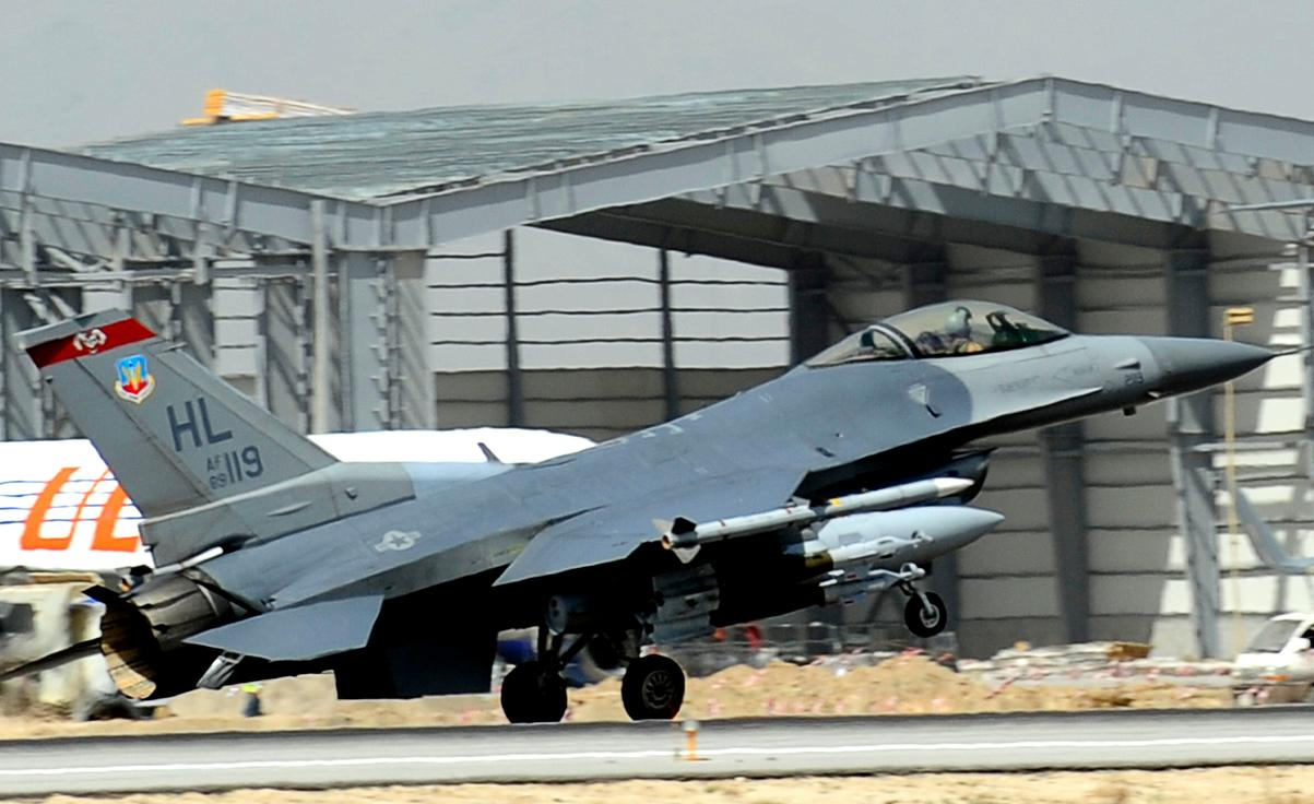 F-16 34th Expeditionary Fighter Squadron at Bagram - foto 2 USAF