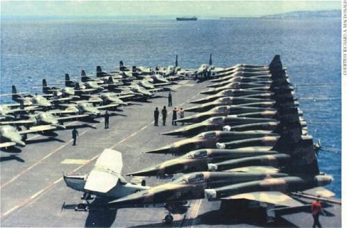 F-5 embarcado 1