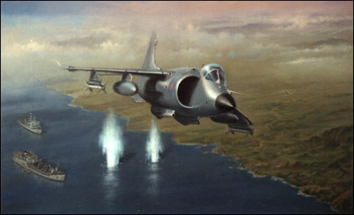 Sea Harrier Malvinas