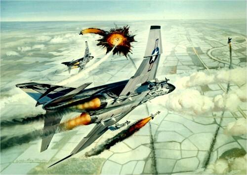 Splash MiGs
