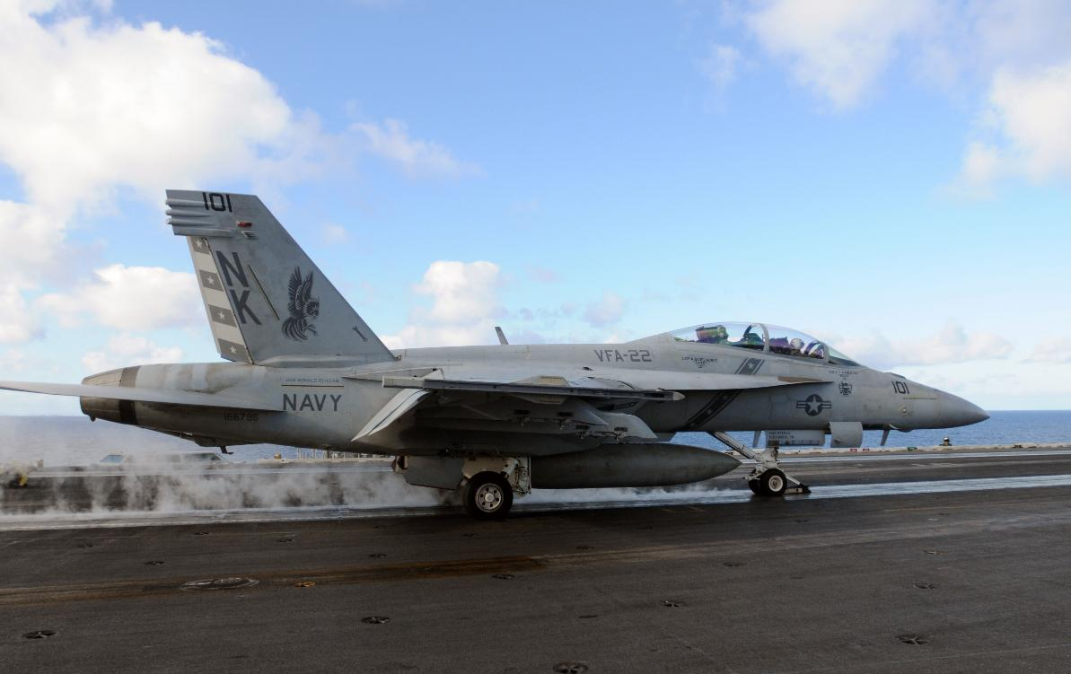 Super Hornet - foto US Navy