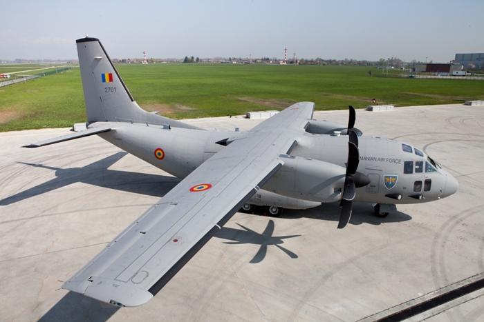 C-27J Romênia - foto 2 Alenia Aeronautica