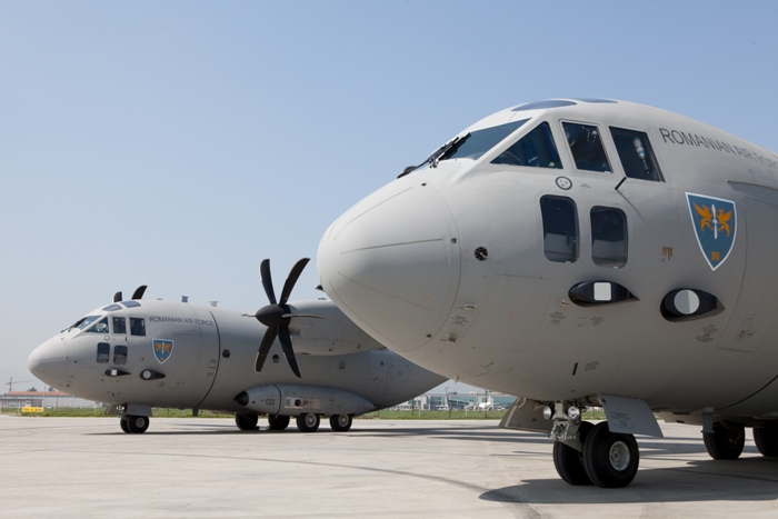 C-27J Romênia - foto Alenia Aeronautica