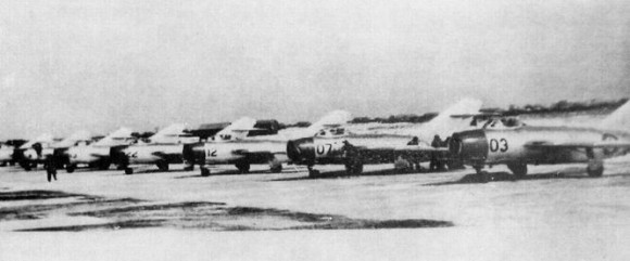 MiG-15s na Coreia