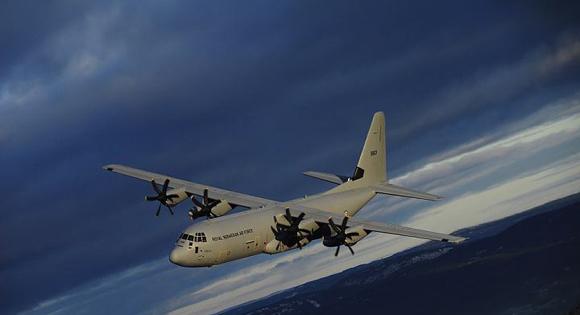 C-130 J Noruega - foto Força Aérea Norueguesa