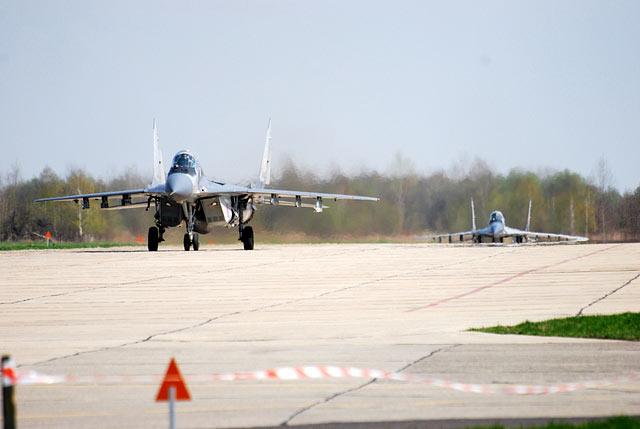 Esquadrão de MiG-29 para a Defesa Aérea do Báltico - foto 2 Força Aérea Polonesa
