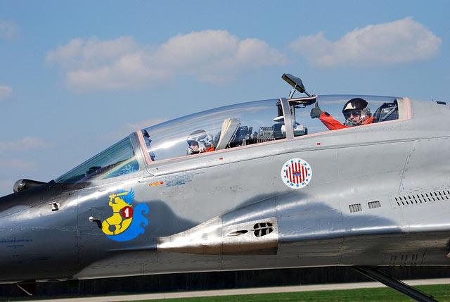 Esquadrão de MiG-29 para a Defesa Aérea do Báltico - foto 3 Força Aérea Polonesa