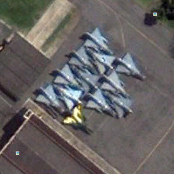 Mirage III na BAAN 2