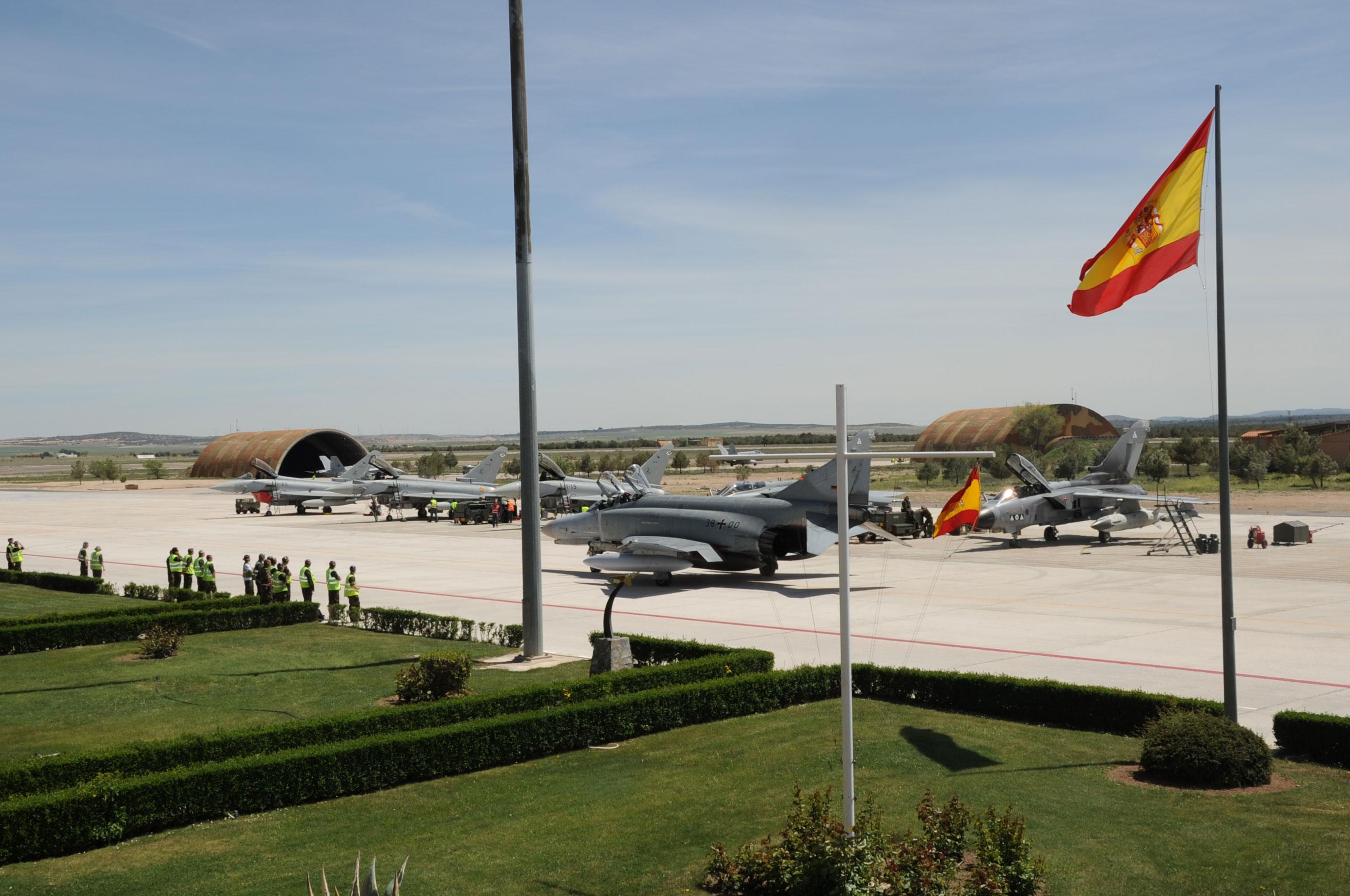 TLP abril - maio em Albacete - foto 2 Ejercito del Aire