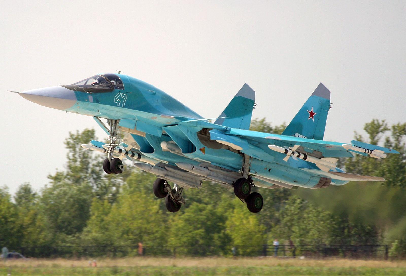 В контексте вопроса о возможности применения на Су-34 ракет средней...