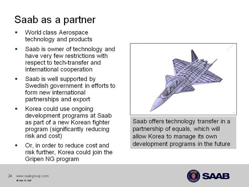 La difícil realidad de construir un caza nativo. KFX-Saab-3