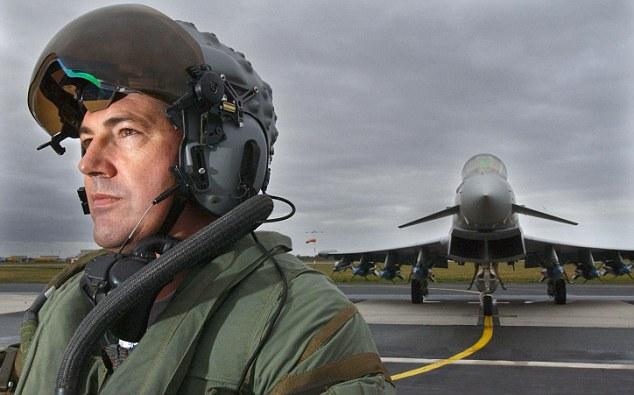 BAe System desenvolve novo capacete para os Eurofighter Typhoon