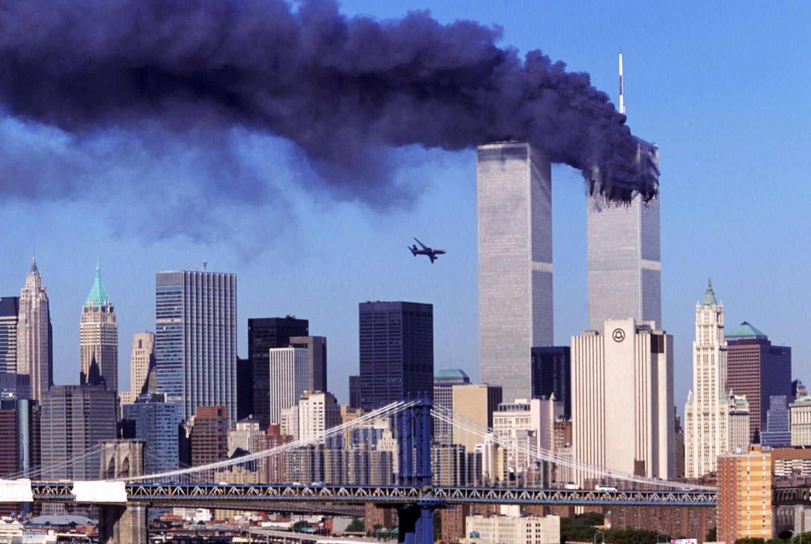 Airplane crashes to the world trade center new york 11 sept 2001 2