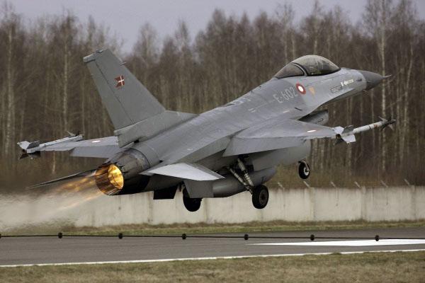 F-16 Dinamarca