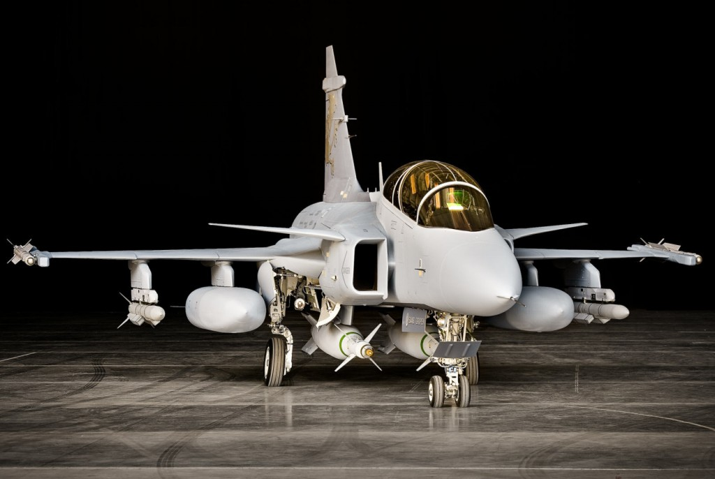 Gripen NG lançamento 1