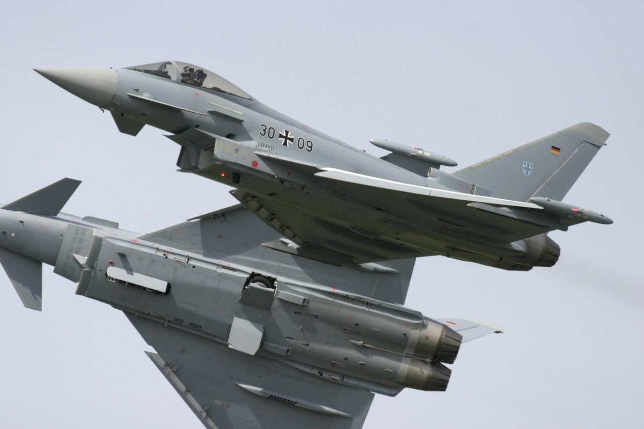Eurofighter Typhoon da Luftwaffe
