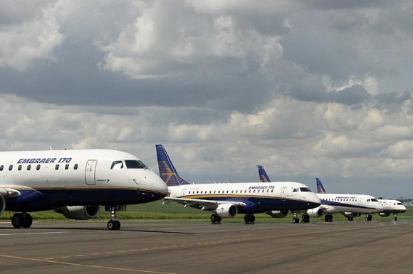 E-jets no solo - foto Embraer