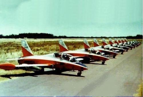 MB339 linha de voo-foto COAN