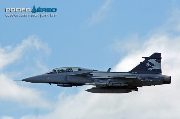 Gripen NG Demo decolando de Malmen - foto 5 Alexandre Galante - Poder Aéreo