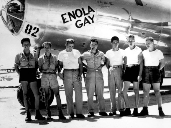"Crew of the B-29 ""Enola Gay"""