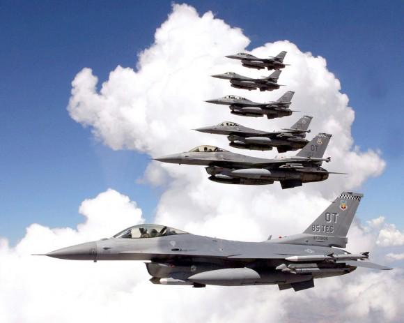 F-16 Fighting Falcon - 1024