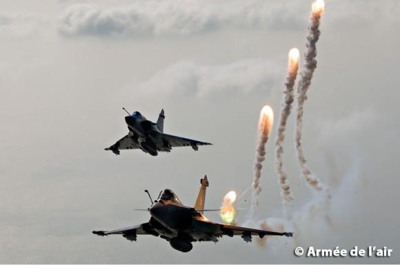 Mirage 2000 e Rafale - foto 3 Armee de lair