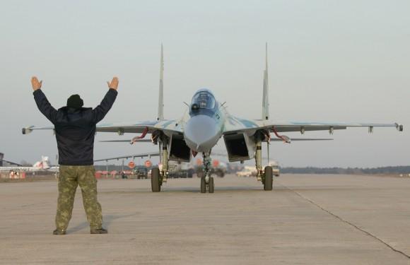Protótipo Su-35 - foto Sukhoi