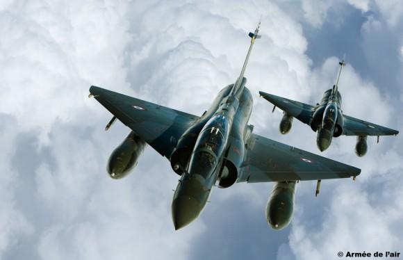 Mirage 2000D participação no TLP - foto Armee de lair
