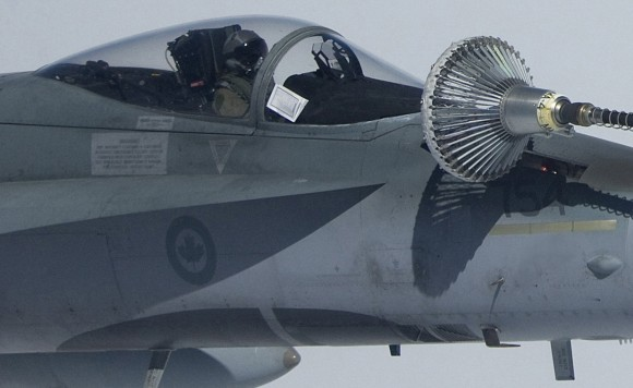 CF-18 - foto 2 Força Aérea Canadense