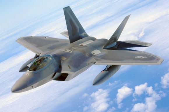F-22 Raptor Hickam's total force integration