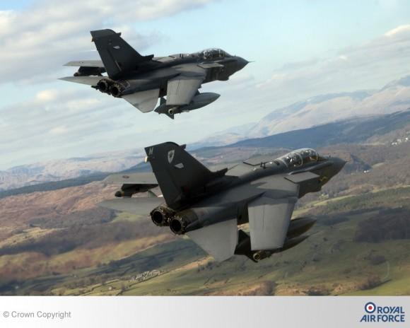 Tornado GR4 elemento - foto RAF