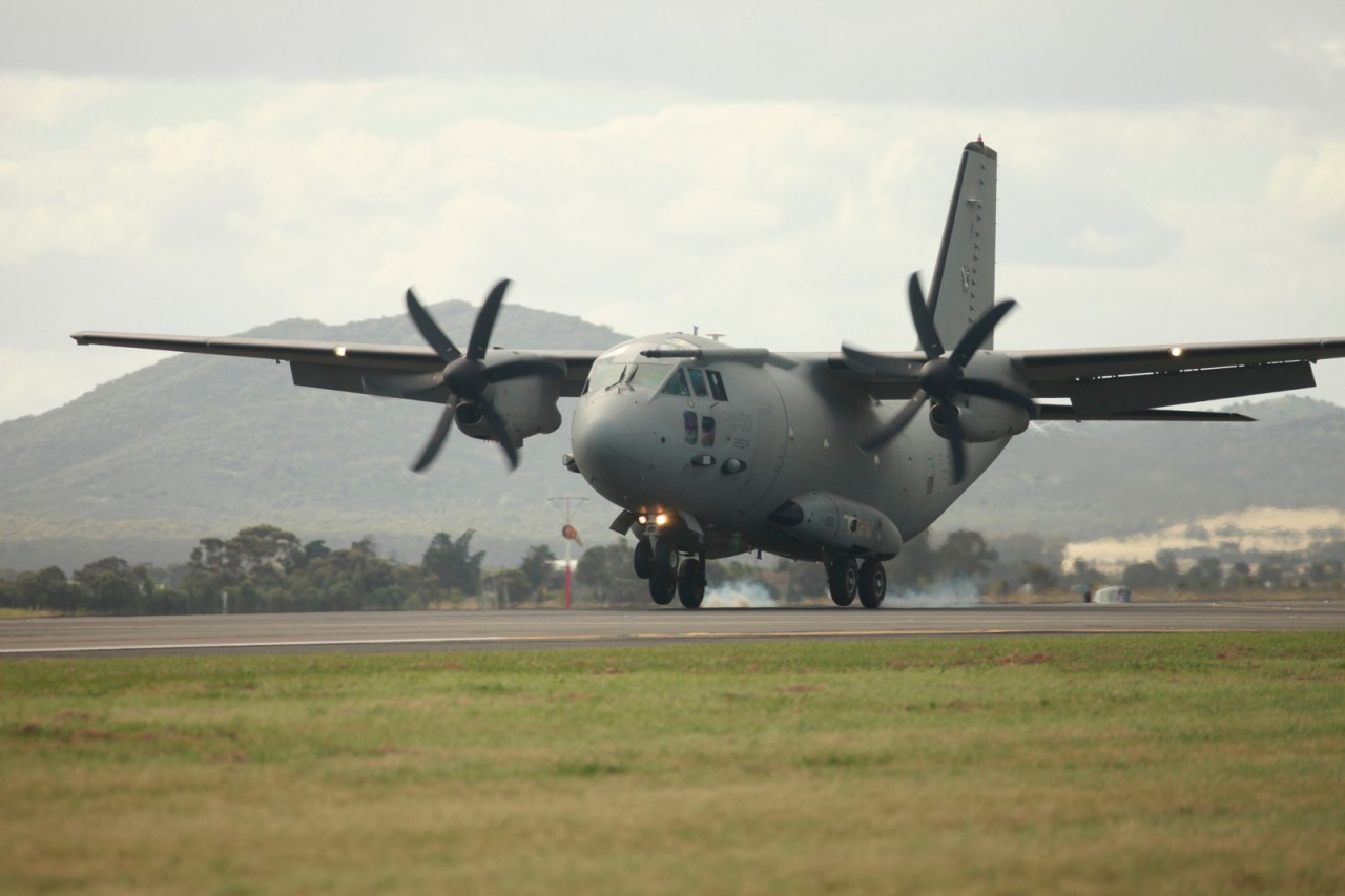 Alenia C-27 - foto Alenia