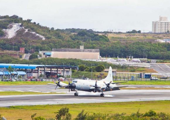 P-3AM pousando