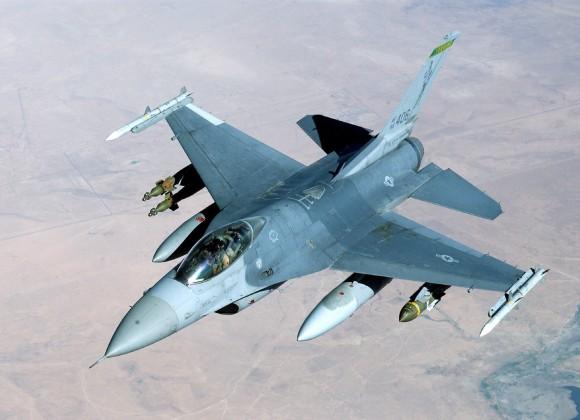 F-16 over Afeganistan