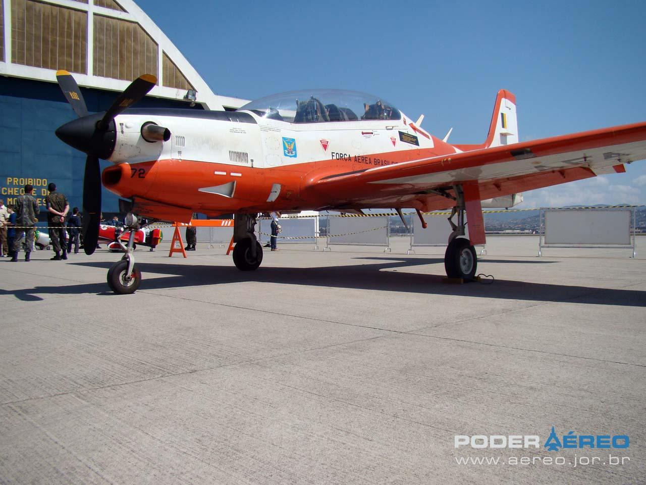 Tucano AFA na BASP 70 anos - foto Poder Aéreo - Nunão