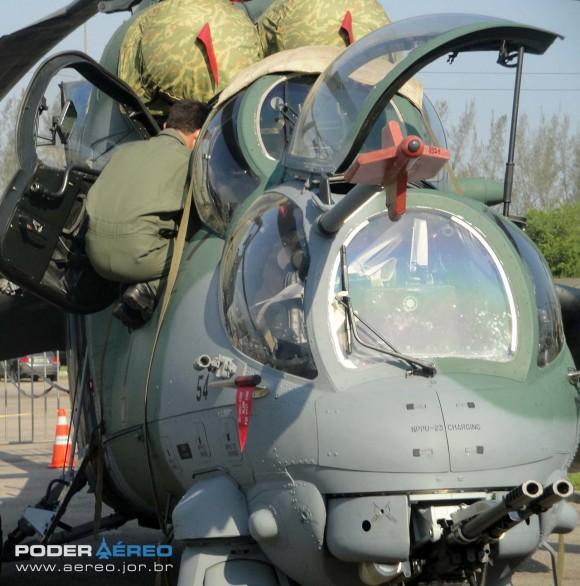 AH-2 Sabre na LAAD 2011 - foto Nunão - Poder Aéreo
